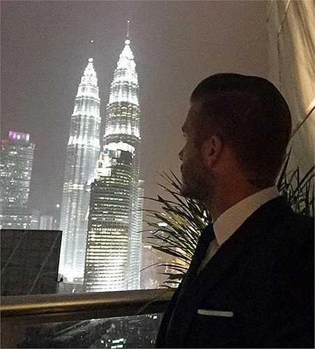 Hình ảnh chia sẻ trên trang cá nhân của Beckham, sau 2 tuần viếng thăm châu Á