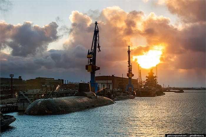 Xưởng đóng tàu ngầm bí mật của Nga được thành lập đầu những năm 1950