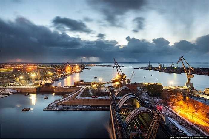 Đây được xem là xưởng đóng tàu ngầm lớn nhất thế giới