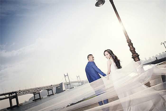 Quỳnh Nga và Doãn Tuần vừa thực hiện thêm một bộ ảnh cưới ở Hàn Quốc.