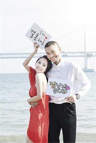 Chia sẻ về lý do vì sao sang Hàn Quốc chụp ảnh, Quỳnh Nga thổ lộ cô rất có duyên với đất nước này.