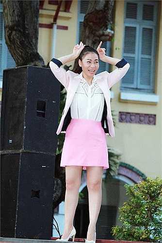 Những hình ảnh đáng yêu của nữ hoàng nhạc dance Thu Minh.