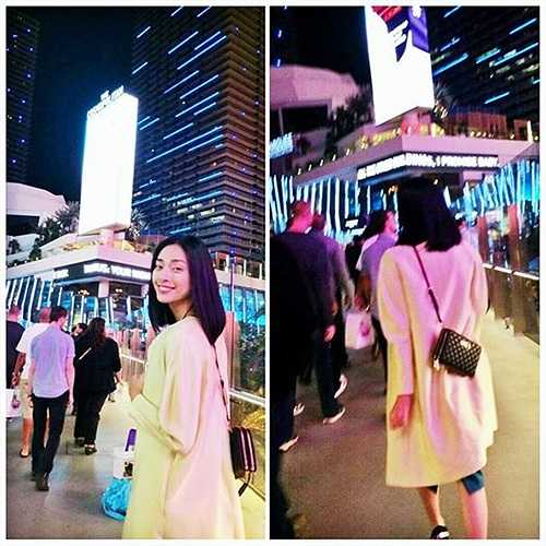 Đả nữ của màn ảnh Việt trên đường phố Mỹ.
