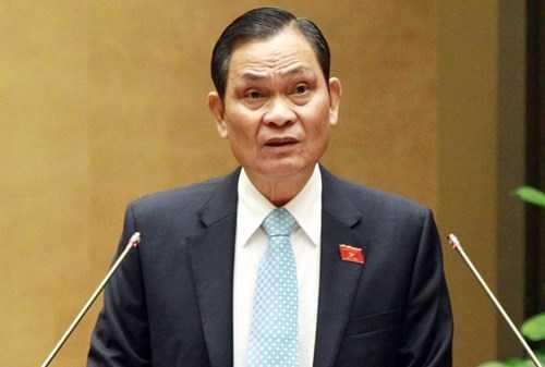 Bộ trưởng Nội vụ Nguyễn Thái Bình