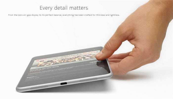 N1 được Nokia mô tả như là một sự khởi đầu mới của công ty với điểm nổi bật đó là thiết kế vỏ nhôm mỏng (6,9 mm) và nhẹ (318 gram).