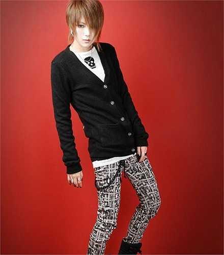 Park Young Hee có tạo hình giống nhân vật trong Final Fantasy của Nhật Bản.