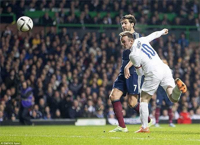 Phút 85, Rooney ấn định chiến thắng 3-1 cho Tam Sư.