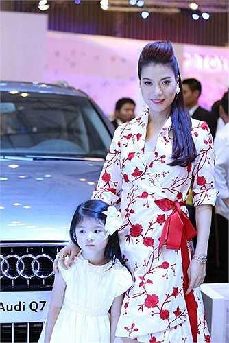 Trương Ngọc Ánh còn là đại sứ của dòng xe hạng sang.