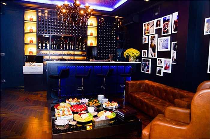 Nơi thư giãn của gia đình Trương Ngọc Ánh.