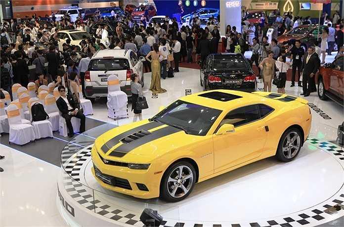 Mẫu xe hơi đời mới đã có mặt tại TP.HCM.
