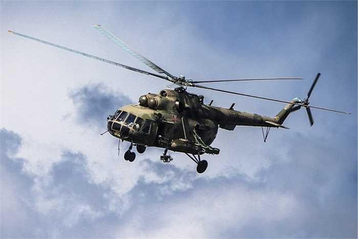 Trực thăng chiến đấu Mi-8