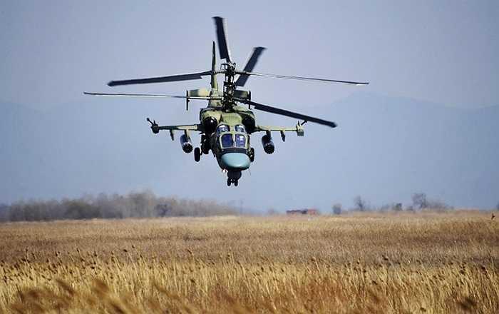 Trực thăng chiến đấu Cá sấu Ka-52