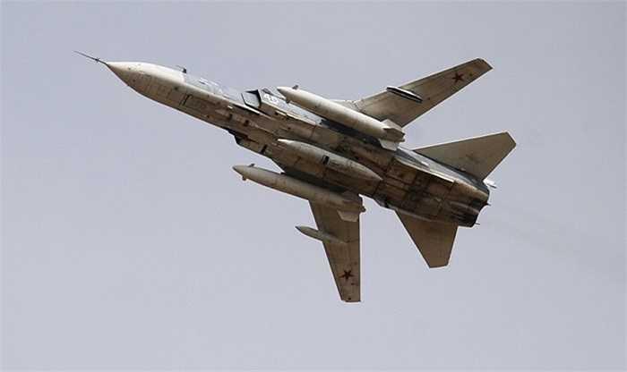 Máy bay chiến đấu siêu thanh Su-24