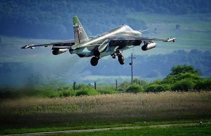 Chiến cơ Su-25 hỗ trợ bộ binh