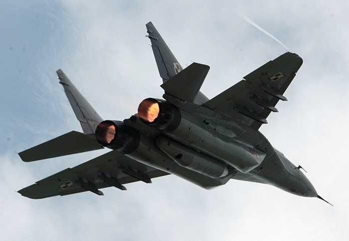 MiG-29, một trong những chiến cơ phổ biến nhất của Không quân Nga