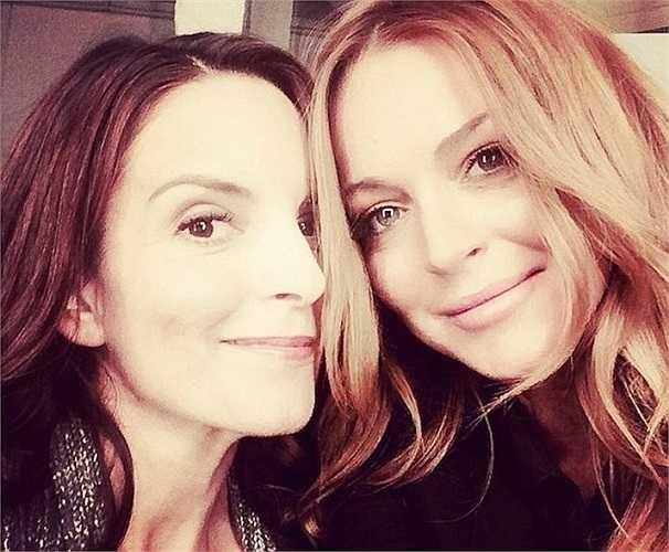 Khoảnh khắc hai cô nàng từng đóng chung trong bộ phim Mean Girls nổi đình đám -  Lindsay Lohan và Daniel Franzese hội ngộ khiến dân mạng không khỏi thích thú.