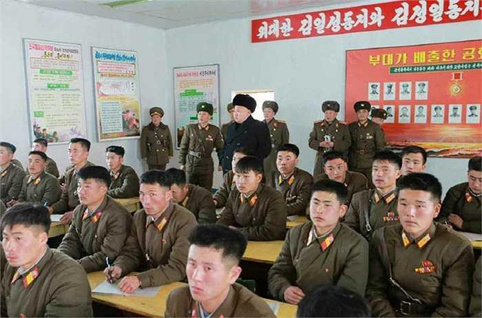Ông Kim một lần nữa nhắc lại tính quan trọng của việc giáo dục tư tưởng chính trị