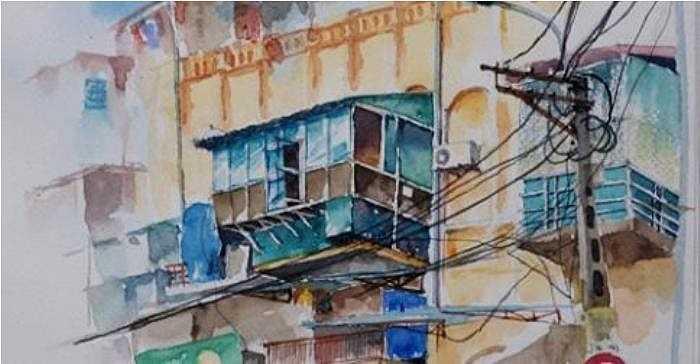 Hình ảnh cơi nới ở những khu tập thể cũ ở Hà Nội