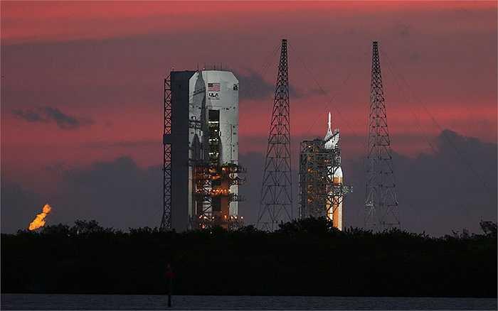 Hôm 5/12 vừa qua, NASA đã tiến hành thành công quá trình phóng thử nghiệm tàu vũ trụ Orion lên quỹ đạo từ Mũi Canaveral, Florida, Mỹ.