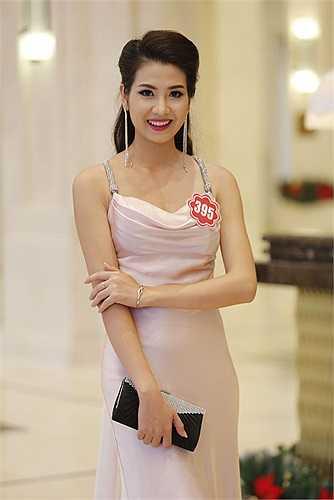 Nguyễn Thị Thu Hà (SBD 395) đến từ Hà Giang.