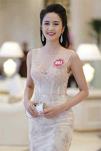Nguyễn Thụy Quỳnh Thư (SBD 883) đến từ TP HCM.