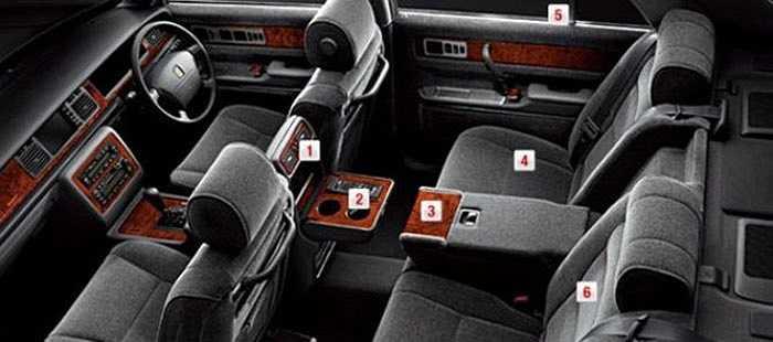 2. Máy cassette trên xe Toyota Century    Một chiếc xe sản xuất năm 2014 có máy cassette và những tấm rèm che cửa sổ, nó có vẻ sẽ phù hợp với những người lớn tuổi muốn trải nghiệm những chiếc băng đĩa cũ của họ.