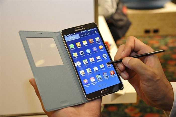 6. Samsung Galaxy Note III Docomo    Mẫu di động xách tay từ Nhật Bản thường có giá tốt, và chiếc Galaxy Note 3 Docomo cũng không ngoại lệ. Model này hiện được bán tại Việt Nam với giá 7,9 triệu đồng. Tuy là một dòng máy nội địa, nhưng Note 3 Docomo vẫn có sức hút tại Việt Nam nhờ giá tốt và có thể cài được bản ROM Cook quốc tế, khắc phục được hầu hết các lỗi vặt.