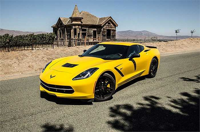 Chevrolet Corvette - 95%,   xếp thứ 2 trong số những mẫu xe được chuộng nhiều nhất.