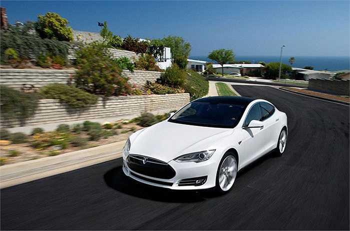 Tesla Model S - 98%,   xếp thứ 1 trong số những mẫu xe được chuộng nhiều nhất.