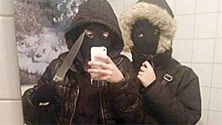 Tự sướng kiểu cướp nhà băng: Trông có vẻ 'thanh niên nguy hiểm'.