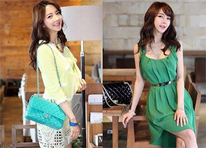 Park Hyun Sun có phong cách thời trang ấn tượng với chiều cao 1m70 và đường cong quyến rũ. (Theo Ione)