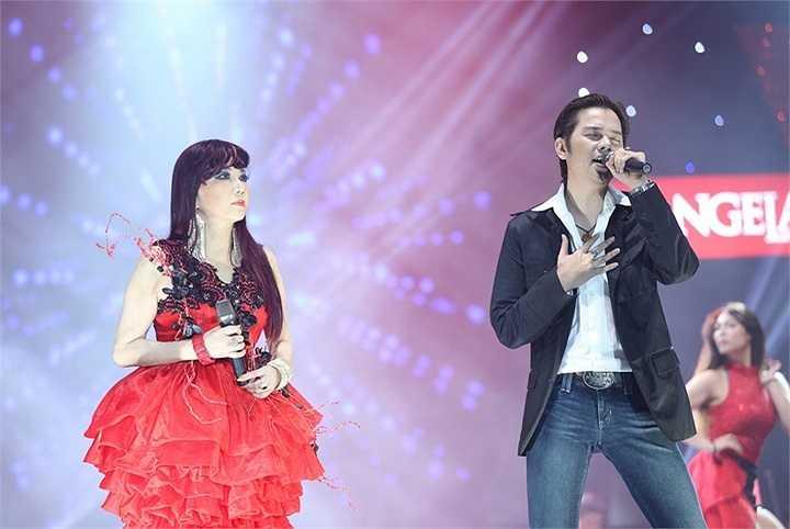Bảo Yến cũng song ca cùng với con trai Khải Ca và nhạc sĩ Nguyễn Kim Tuấn – người hòa âm phối khí toàn bộ ca khúc trong chương trình – trong ca khúc Trái tim hoang đường do Kim Tuấn sáng tác
