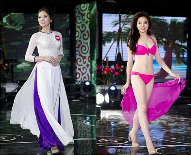 Tân Hoa hậu Việt Nam 2014 Nguyễn Cao Kỳ Duyên (SBD 283), 18 tuổi, đến từ Nam Định.