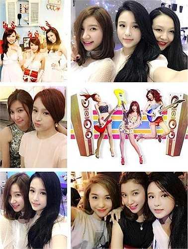 Dù hiện tại mỗi người đều có hướng đi và cuộc sống riêng, nhưng tình bạn của bộ 3 hot girl Hà Thành vẫn mãi thấm thiết.