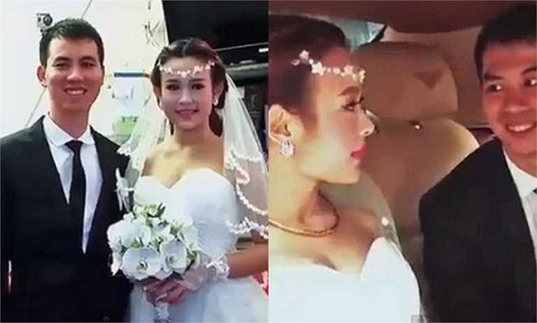 Năm 2013, Huyền Baby bất ngờ lộ clip cưới khiến mọi người ngỡ ngàng. Đám cưới diễn ra khá bí mật vào ngày 19/3/2013, không để lộ bất cứ thông tin nào trước công chúng.