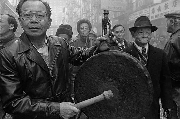 Lễ mừng Tết cổ truyền trên đường phố New York của người Trung Quốc ở 1984