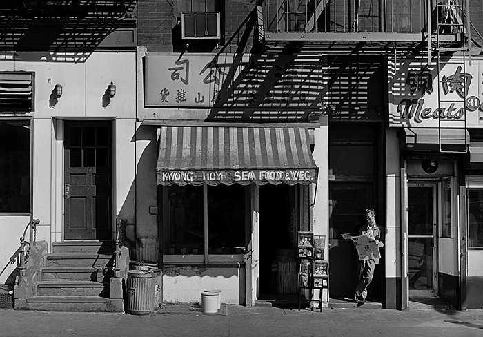 Một cửa hàng ở phố người Hoa ở New York