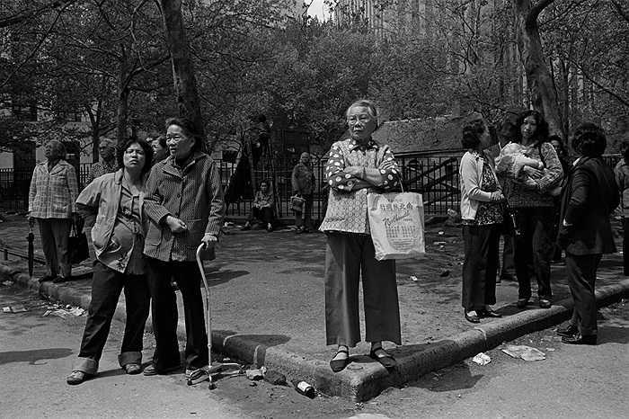 Người gốc Hoa trong công viên Columbus
