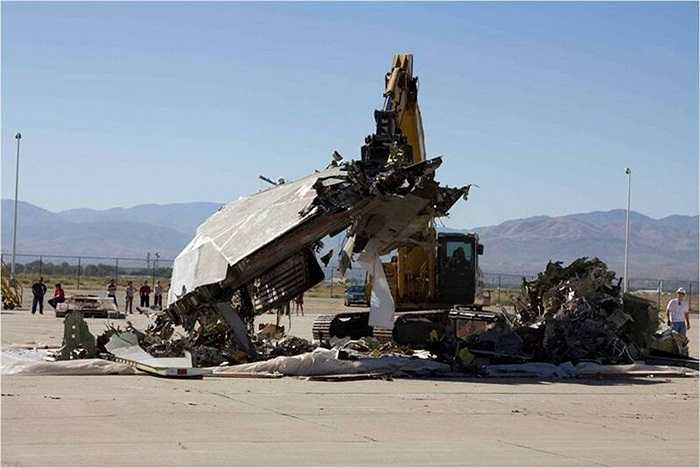 F-117 Nighthawk bị phá hủy sau khi đã nghỉ hưu