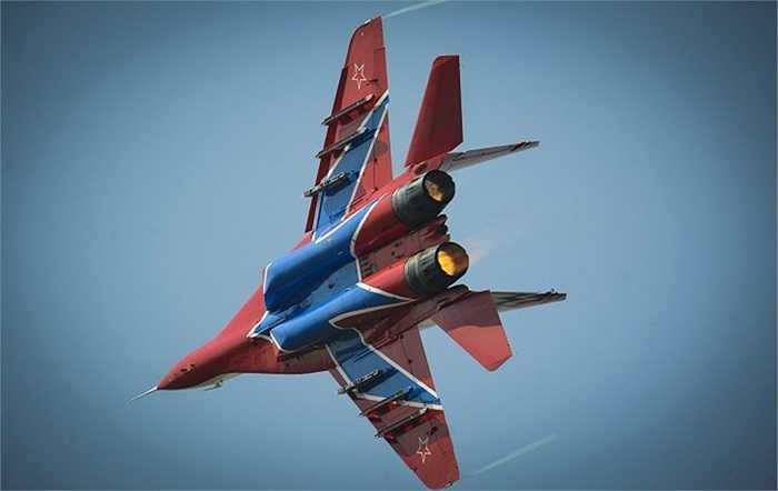 Cận cảnh chiếc MiG-29 của đội bay Chim Yến