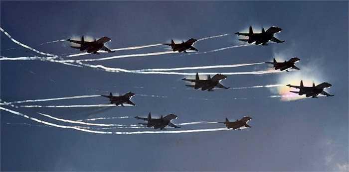 Cả Hiệp sỹ Nga và Chim Yến thường xuyên là khách mời trong các triển lãm hàng không lớn trên thế giới