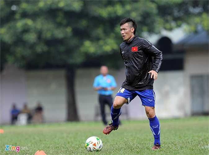 Đội trưởng Tấn Tài cùng các đồng đội đang nỗ lực tập luyện để đòi lại món nợ ở trận bán kết AFF Cup 2010.