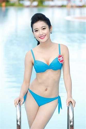 Á hậu Huyền My nổi danh là hot girl Hà Thành với gia thế giàu có cùng việc được đào tạo làm người mẫu chuyên nghiệp