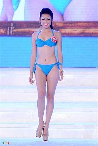 Trong đêm chung kết Hoa hậu Việt Nam 2014, Huyền My đã thực sự tỏa sáng.