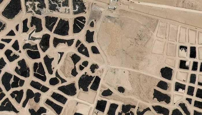 Ảnh chụp khu nghĩa địa lớn nhất thế giới ở Cô-oét, 04/06/2014