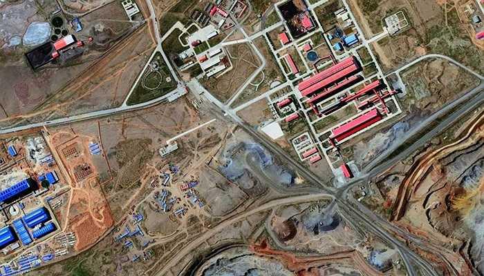 Ảnh chụp vùng mỏ Bayan Obo, Trung Quốc, 23/08/2014