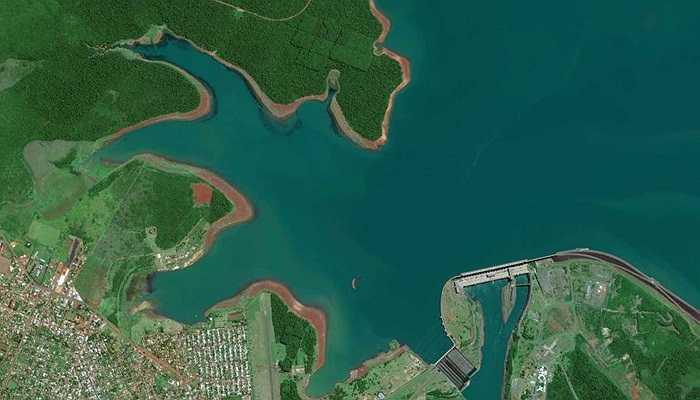 Ảnh chụp con đập Itaipu, Paraguay, 12/03/2014