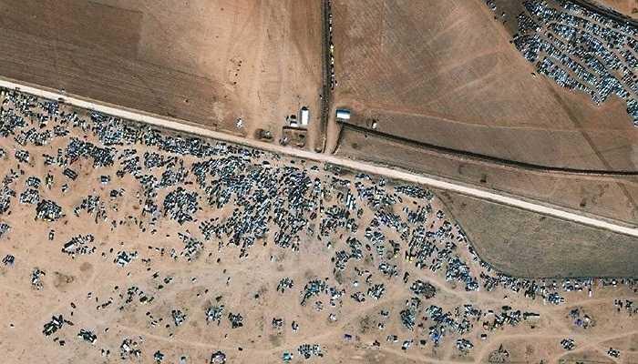 Ảnh chụp vùng Kobani, Syria, 06/11/2014