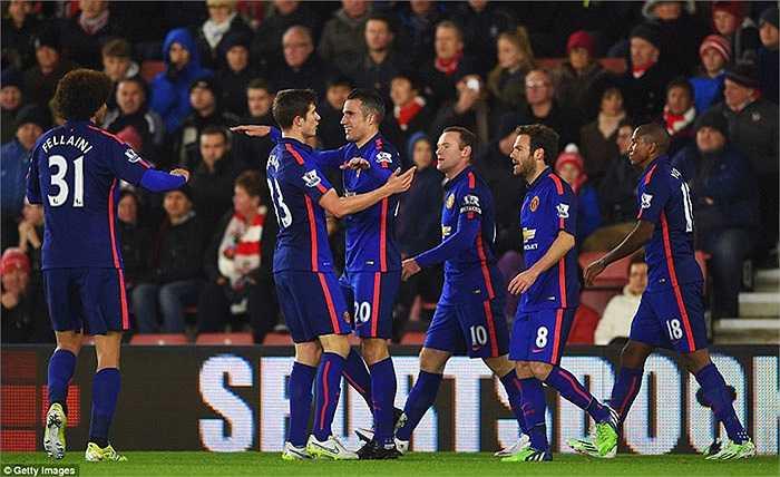 Man Utd đang bay trên đôi cánh của Van Persie