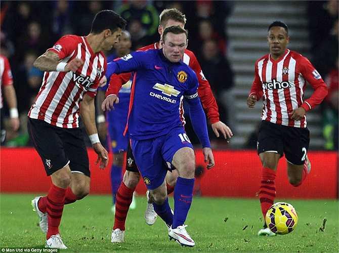 Những phút còn lại, Man Utd đá chậm để bảo toàn tỷ số